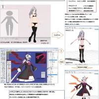 3Dカスタム少女MMD講座